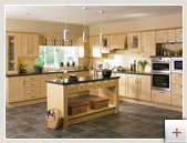 Timber kitchen doors
