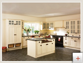 Man made PVC kitchen doors